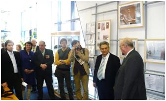 2010 год, открытие выставки в Московском доме общественных организаций «Северный флот в боях за Родину»